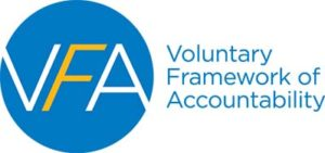 Voluntary Framework of Accountability Logo and Link