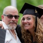 Graduate and her father