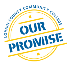 Lorain County Community College Our Promise Logo