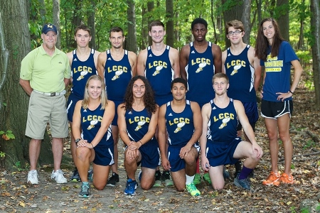 2016 LCCC Cross Country Team