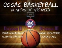 OCCAC Players of the Week Nov 6-12, 2017