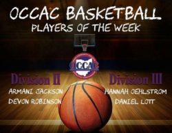OCCAC Players of the Week for Oct. 30-Nov. 5, 2017
