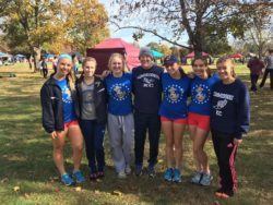 Women's Cross Country Team at Nationals