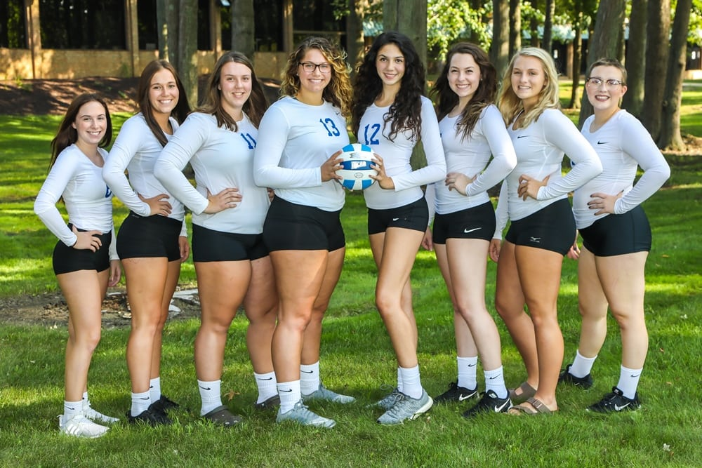 2018 LCCC Volleyball Team