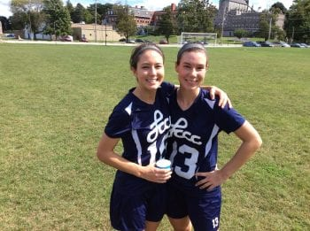Women's Soccer Teammates