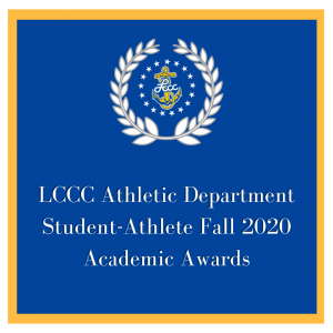 LCCC Athletic Department Student-Athlete Fall 2020 Academic Awards