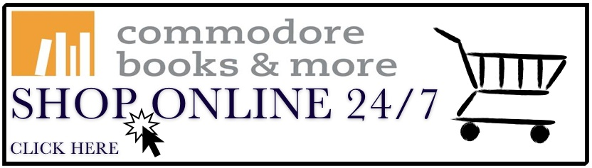 Click here to shop online at Commodore Books & More