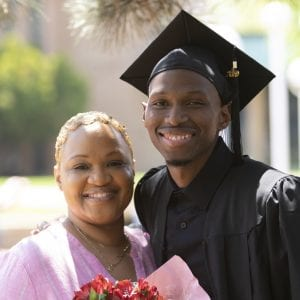 LCCC Grad and Mom