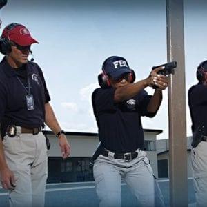 FBI Agents at shooting range