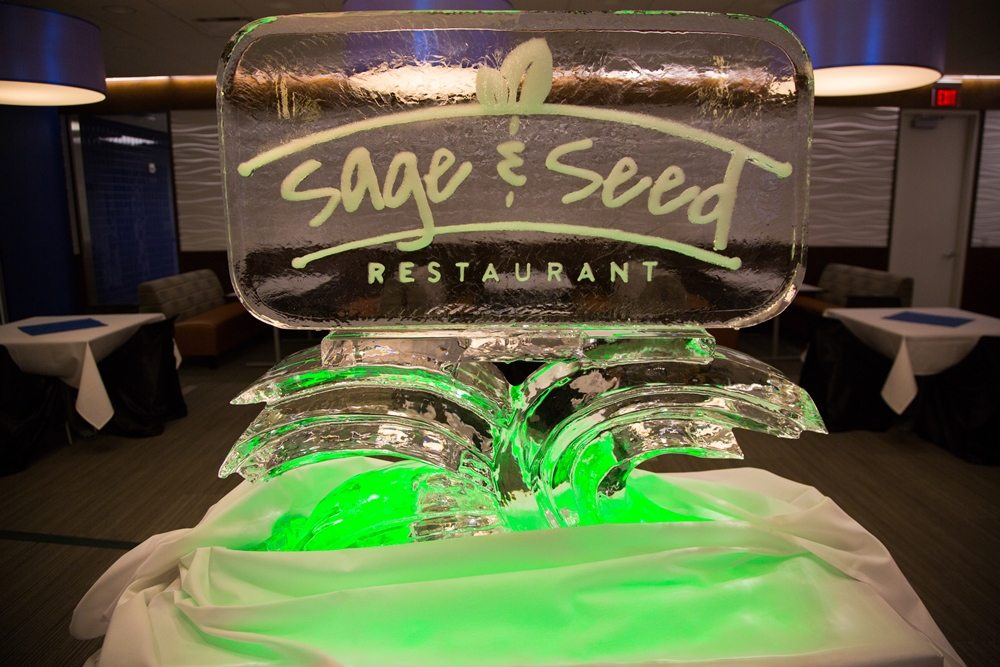 Sage & Seed Ice Sculpture