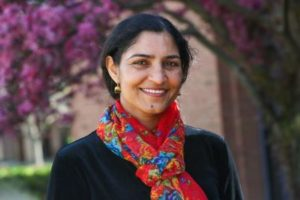 A picture of Society of Women Engineers Faculty Advisor, Ramona Anand