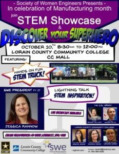 A picture of the STEM Showcase Event Flyer