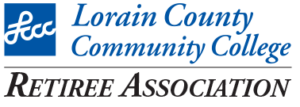 The Logo for the Lorain County Community College Retiree Association
