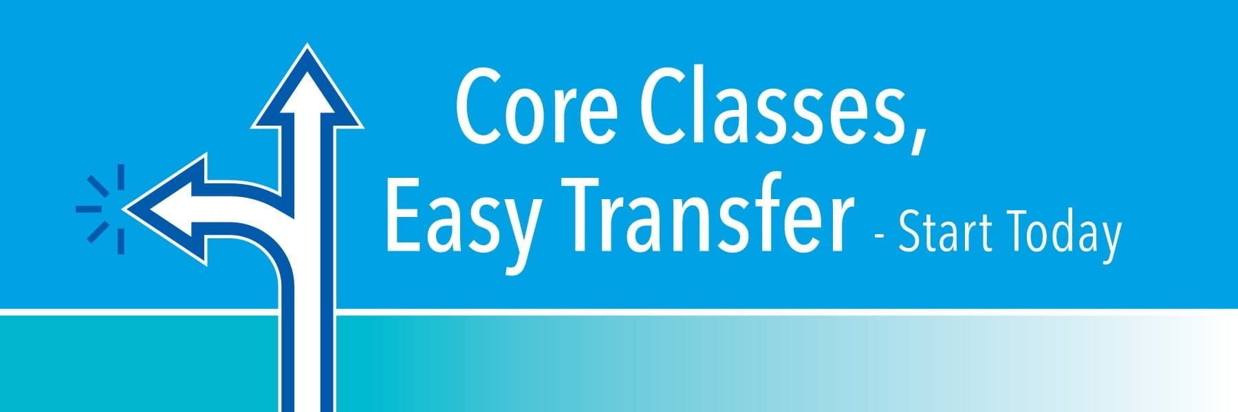 Core Classes. Easy Transfer. Start today.