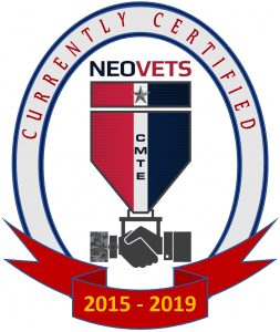Currently Certified 2015-19 NEOVets logo