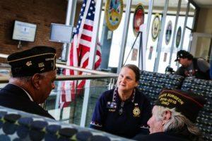 Veterans in Lounge
