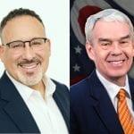 Dr. Miguel Cardona and Randy Gardner