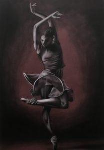 Dark Ballet Dancer