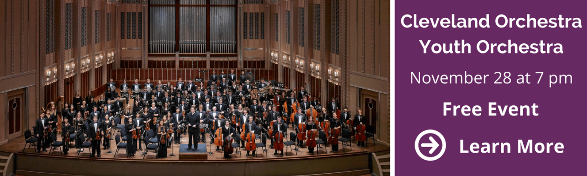 Cleveland Orchestra Youth Orchestra