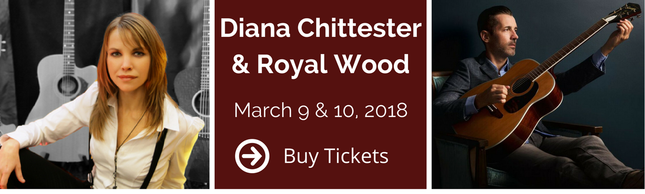 Diana Chittester & Royal Wood Slider, March 9 and 10, 2018, Select to buy tickets