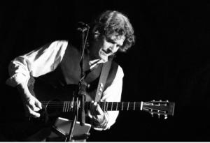 Jeff Varga playing guitar.