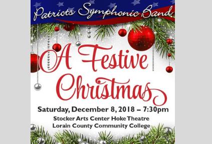 Patriots Symphonic Band A Festive Christmas