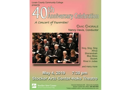 Civic Chorale Pops Concert Poster