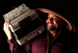 Terrance Simeon with Accordion