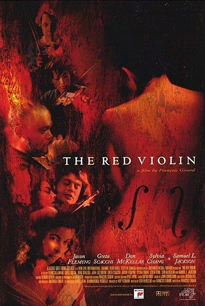 The Red Violin Film Poster