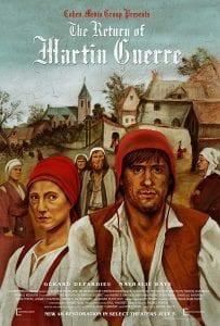 The return of martin guerre film poster