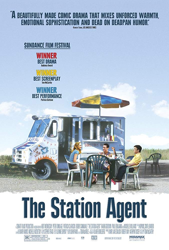 The station agent film poster