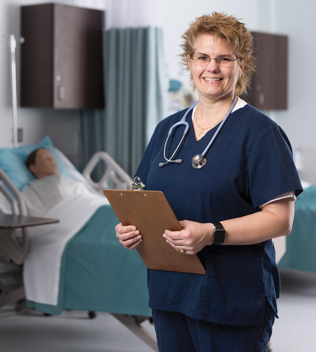 Wendy Blount nursing student