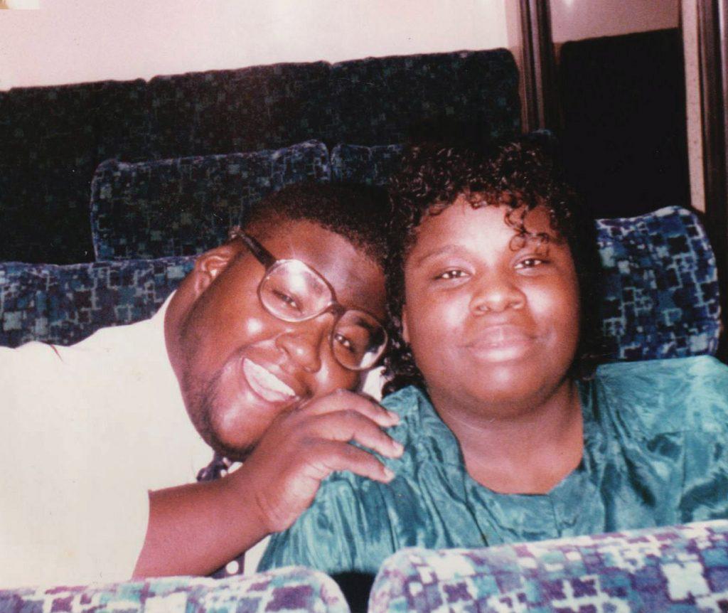 Kim Porter and her husband