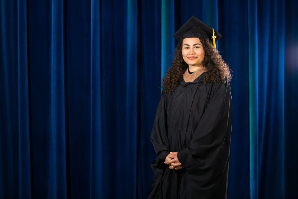 Sienna Wright graduation