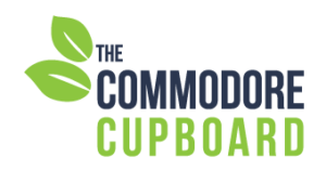 The Logo for the Commodore Cupboard
