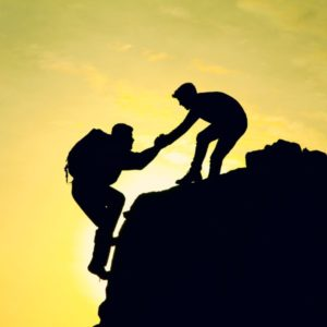 Helping Climber