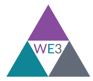 We3 block logo