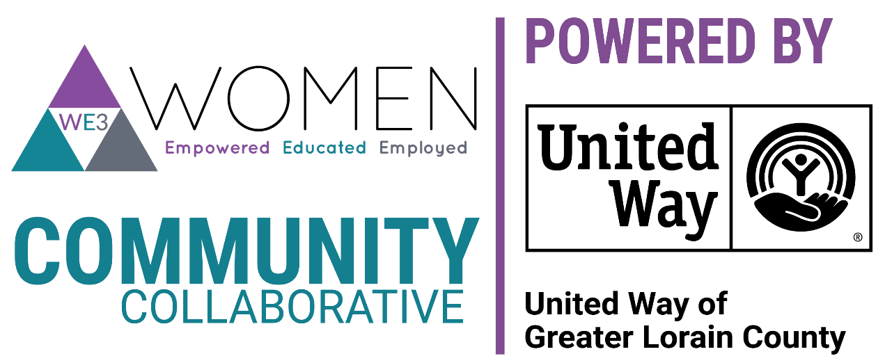 WE3 Uw Logo - WE3 Women Empowered Educated Employed Community Collaborative Powered by United Way of Greater Lorain County