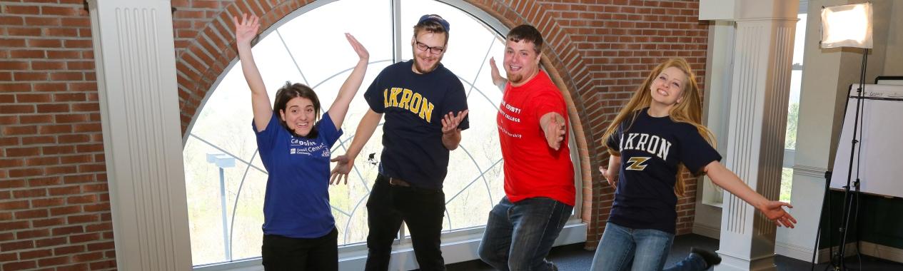 Akron Students