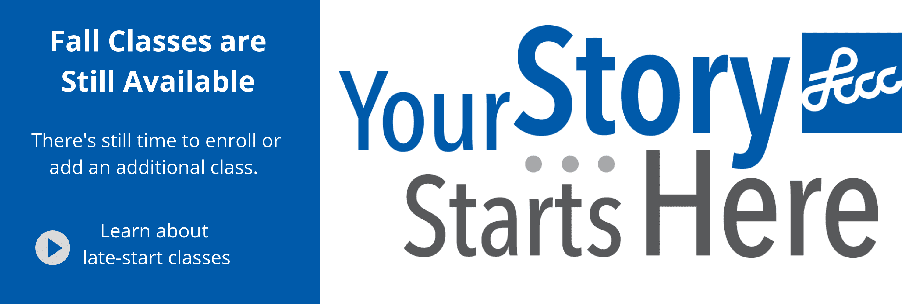 Your Story Late Start Fall 2018 3